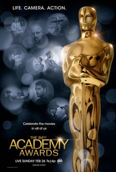 Oscar 2012 poster