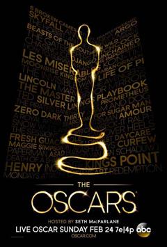 Oscar 2013 poster