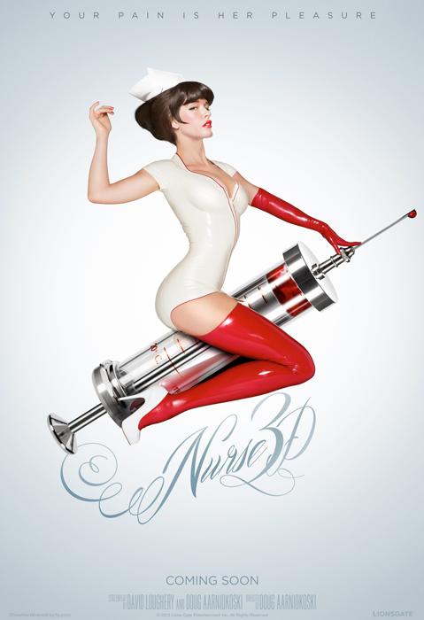 Nurse 3D - plakat
